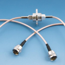 1 channel rotary joint style I F male type(75ohm) DC-3 GHz with cable